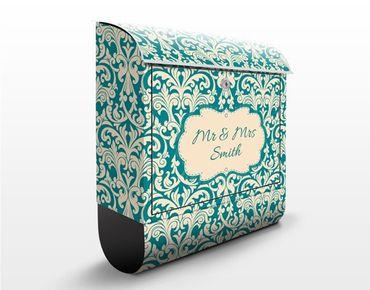 Cassetta postale personalizzata The 12 Muses - Aoide 39x46x13cm