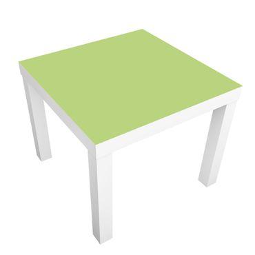 Carta adesiva per mobili IKEA - Lack Tavolino Colour Spring Green