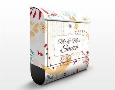 Cassetta postale personalizzata Spring Garden 39x46x13cm