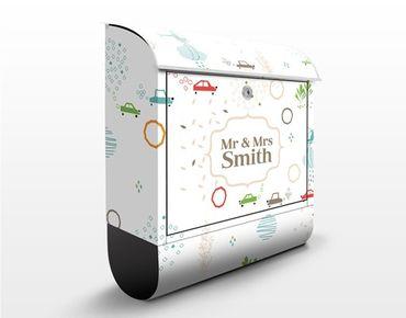 Cassetta postale personalizzata Green City Streets 39x46x13cm