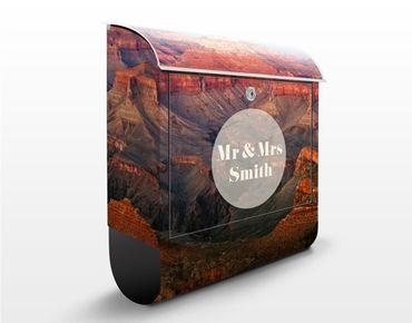Cassetta postale personalizzata Grand Canyon After Sundown 39x46x13cm