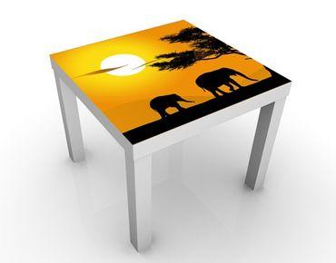 Tavolino design African Elefant Walk
