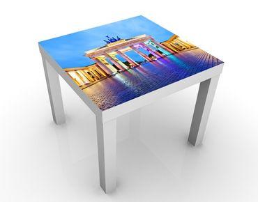 Tavolino design Illuminated Brandenburg Gate