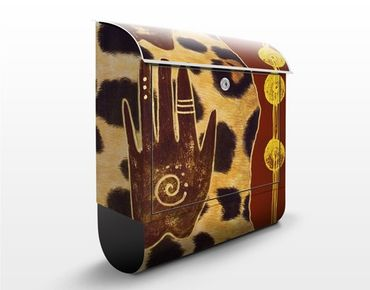 Cassetta postale Touch Of Africa 39x46x13cm