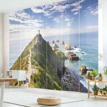 Tende scorrevoli set - Nugget Point Lighthouse And Sea Zealand