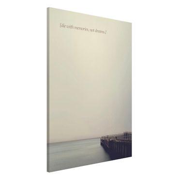 Lavagna magnetica - Paesaggi lirici - Ricordi - Formato verticale 2:3