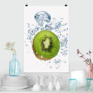 Poster - kiwi Bubbles - Verticale 3:2