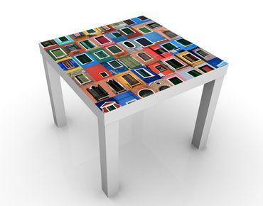 Tavolino design Windows Of The World