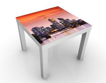 Tavolino design Frankfurt Skyline