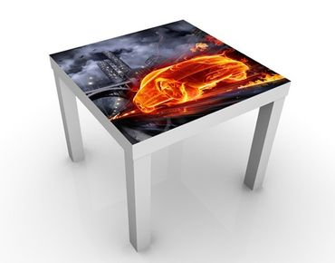 Tavolino design Car in Fire