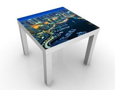 Tavolino design Dubai Marina