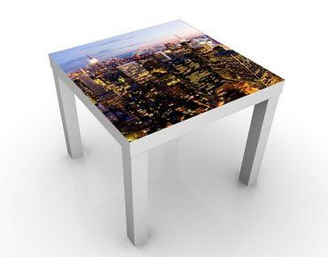 Tavolino design New York Skyline at Night