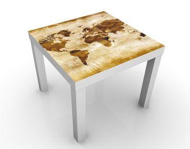Tavolino design No.CG75 Map of the World