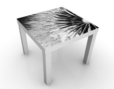 Tavolino design Black & White Dandelion