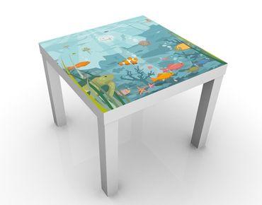 Tavolino design No.EK57 Underwater Landscape