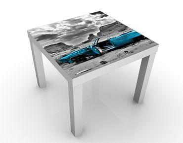 Tavolino design Turqouise Cadillac