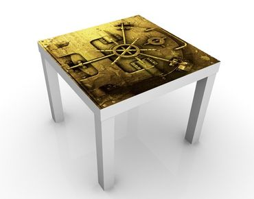 Tavolino design Golden Safe