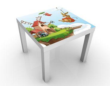 Tavolino design Flying Farm Trip