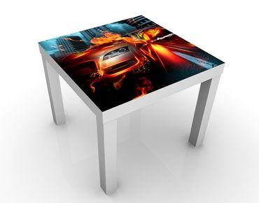 Tavolino design Burning Asphalt