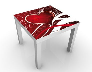Tavolino design I Love You