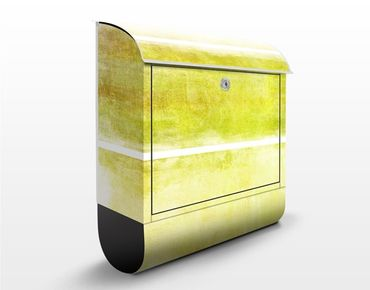 Cassetta postale Colour Harmony Yellow 39x46x13cm