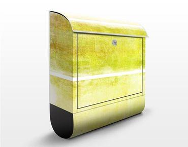 Cassetta postale Colour Harmony Yellow 39x46x13cm