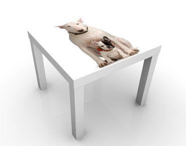 Tavolino design Bull Terrier And Friend