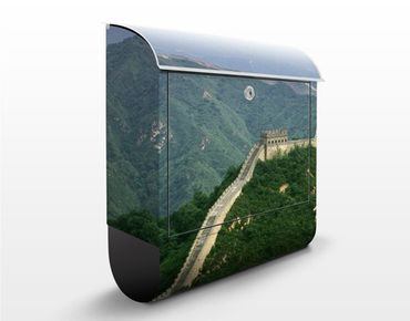 Cassetta postale The Great Wall Of China In The Open 39x46x13cm