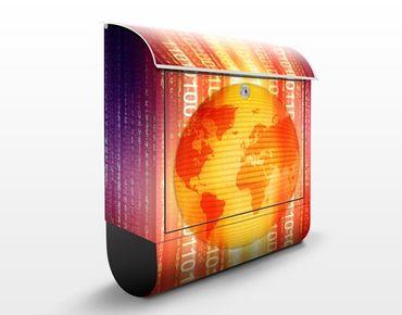 Cassetta postale Digital Planet 39x46x13cm
