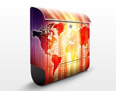 Cassetta postale Digital World 39x46x13cm