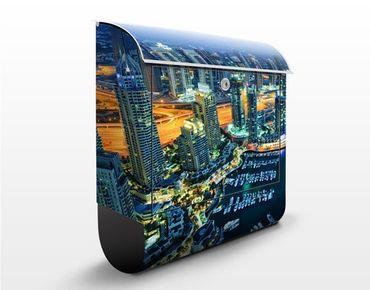 Cassetta postale Dubai Marina 39x46x13cm