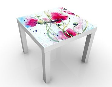 Tavolino design Painted Poppies