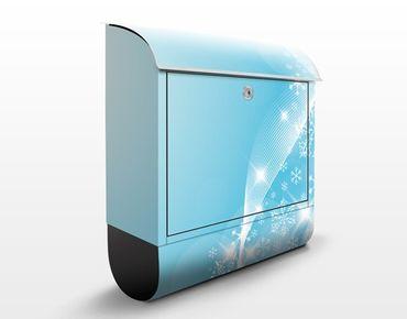 Cassetta postale Ice & Glitter 39x46x13cm