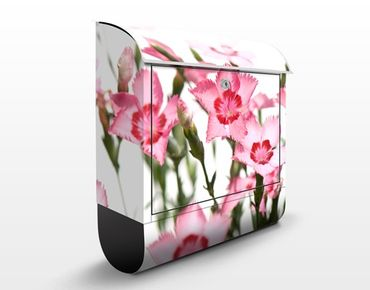 Cassetta postale Pink Flowers 39x46x13cm