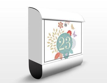 Cassetta postale no.JS307 Personalizzata All Around 39x46x13cm