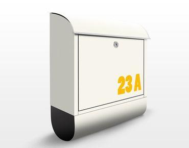 Cassetta postale no.JS316 Personalizzata Yellow To Beige 39x46x13cm