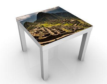 Tavolino design Machu Picchu
