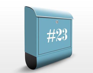 Cassetta postale no.JS317 Personalizzata Negative 39x46x13cm