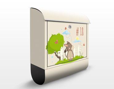 Cassetta postale no.JS109 Personalizzata Donkey 39x46x13cm