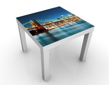 Tavolino design Nighttime Manhattan Bridge