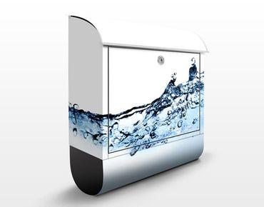 Cassetta postale Fizzy Water 39x46x13cm