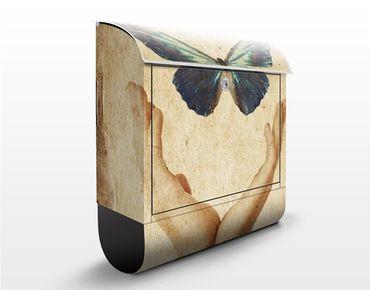 Cassetta postale Fly, Butterfly! 39x46x13cm