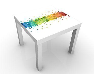 Tavolino design Pixel Rainbow