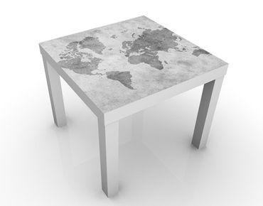 Tavolino design Vintage Worldmap II