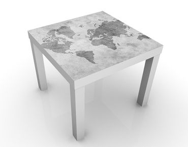 Tavolino design Vintage Worldmap II