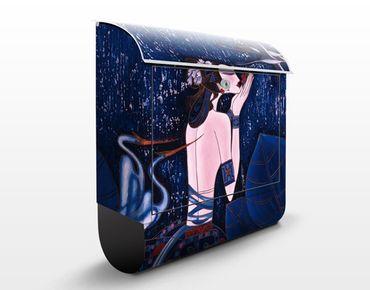 Cassetta postale Wonderland 39x46x13cm
