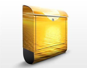 Cassetta postale Golden Sunrise 39x46x13cm