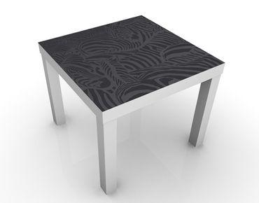 Tavolino design no.DS3 Zebra Crossing Black