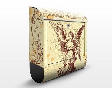 Cassetta postale Grunge Angel 39x46x13cm