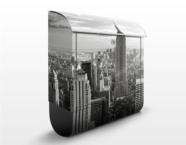 Cassetta postale Manhattan Skyline 39x46x13cm